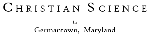 Christian Science Germantown, MD Logo